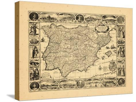 1617, Portugal, Spain--Stretched Canvas Print