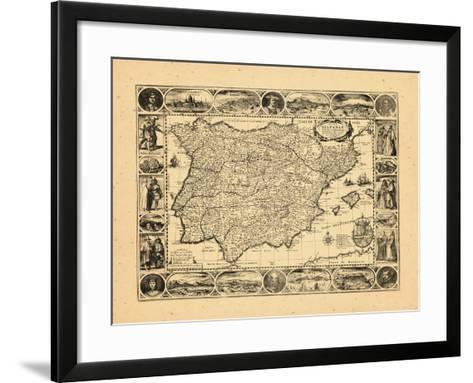 1617, Portugal, Spain--Framed Art Print