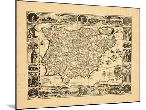 1617, Portugal, Spain--Mounted Giclee Print