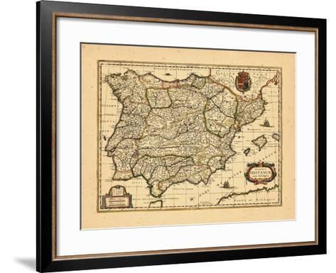 1640, Portugal, Spain--Framed Art Print