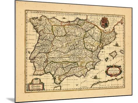 1640, Portugal, Spain--Mounted Giclee Print
