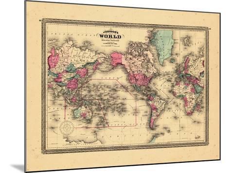 1865, World--Mounted Giclee Print