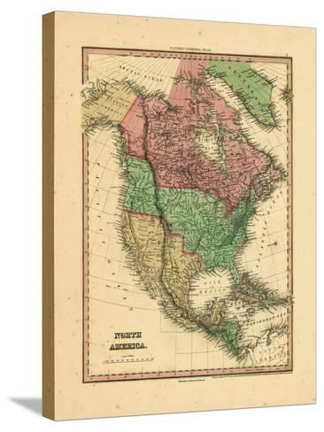 1836, North America--Stretched Canvas Print