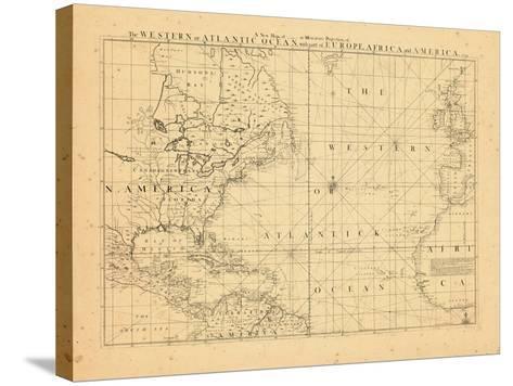 1739, North America, Atlantic Ocean--Stretched Canvas Print