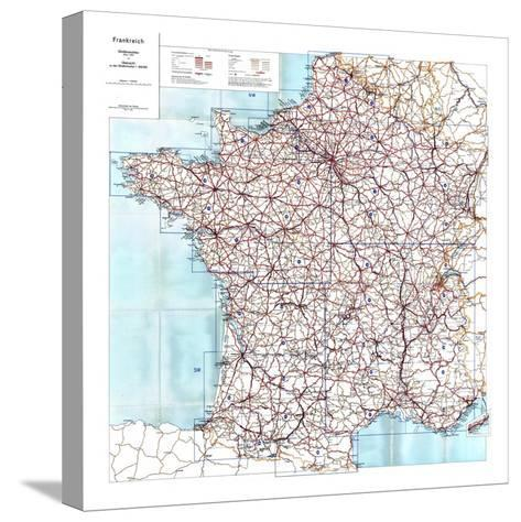 1940, France--Stretched Canvas Print