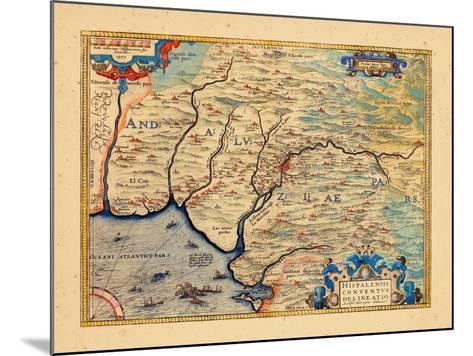 1579, Spain--Mounted Giclee Print