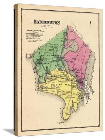 1870, Barrington, Rhode Island, United States--Stretched Canvas Print