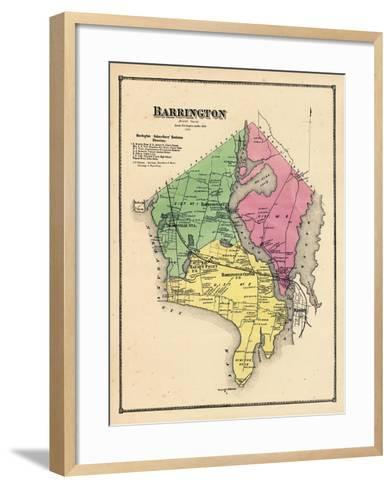 1870, Barrington, Rhode Island, United States--Framed Art Print