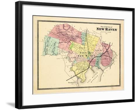 1868, New Haven, Connecticut, United States--Framed Art Print