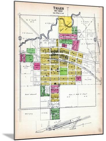 1916, Traer, Iowa, United States--Mounted Giclee Print