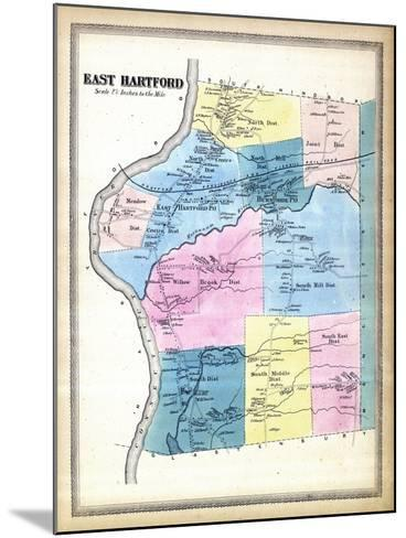 1869, Hartford East, Connecticut, United States--Mounted Giclee Print