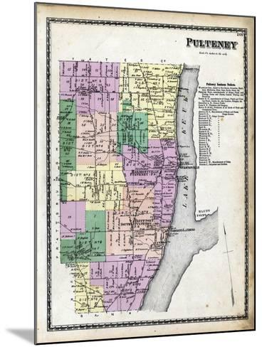 1873, Pulteney, New York, United States--Mounted Giclee Print