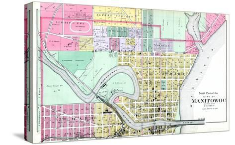 1893, Manitowoc City - North, Wisconsin, United States--Stretched Canvas Print
