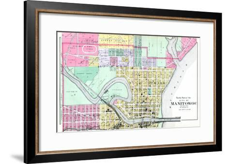 1893, Manitowoc City - North, Wisconsin, United States--Framed Art Print
