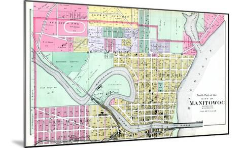 1893, Manitowoc City - North, Wisconsin, United States--Mounted Giclee Print