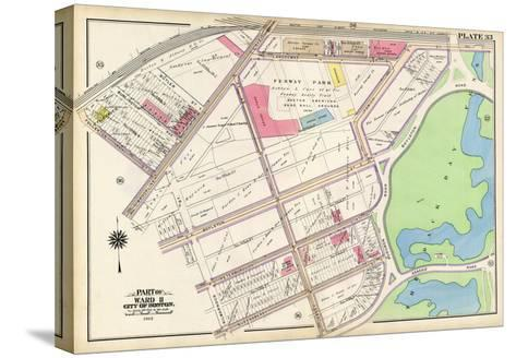 1912, Red Sox Stadium, Boston, 1912 World Series, Massachusetts, United States--Stretched Canvas Print