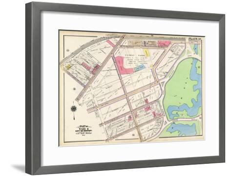 1912, Red Sox Stadium, Boston, 1912 World Series, Massachusetts, United States--Framed Art Print