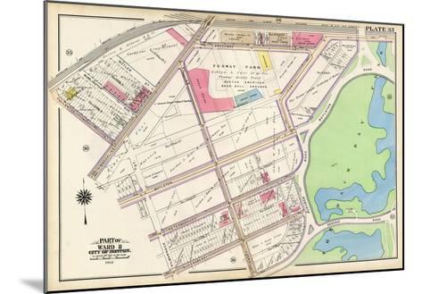 1912, Red Sox Stadium, Boston, 1912 World Series, Massachusetts, United States--Mounted Giclee Print