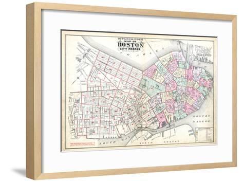 1888, Boston, Massachusetts, United States--Framed Art Print