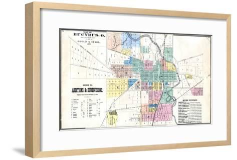 1873, Bucyrus, Ohio, United States--Framed Art Print
