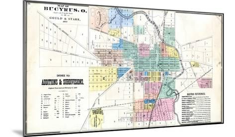 1873, Bucyrus, Ohio, United States--Mounted Giclee Print