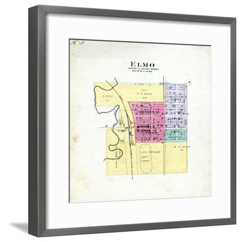 1893, Elmo, Missouri, United States--Framed Art Print
