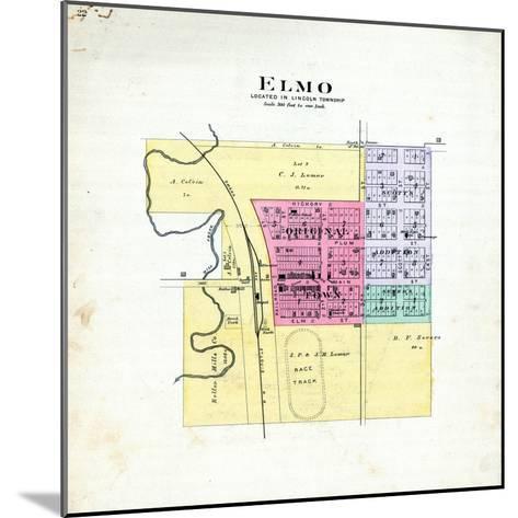 1893, Elmo, Missouri, United States--Mounted Giclee Print