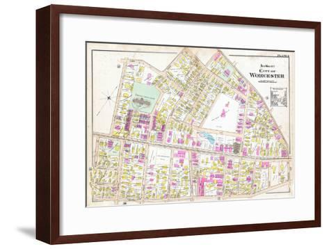 1896, Worcester, Massachusetts, United States--Framed Art Print