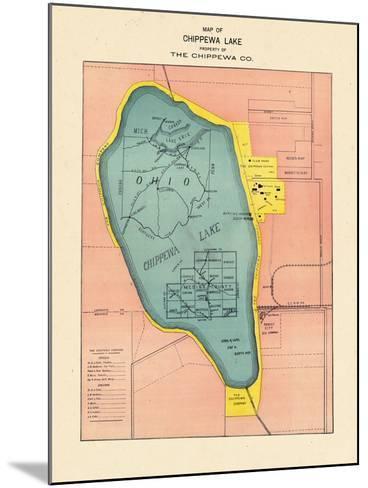 1897, Chippewa Lake, Ohio, United States--Mounted Giclee Print