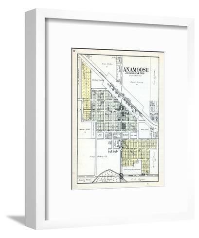 1929, Anamoose, North Dakota, United States--Framed Art Print