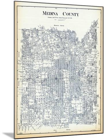 1915, Medina County 1915, Texas, United States--Mounted Giclee Print