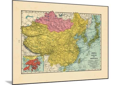 1925, China, Japan, Mongolia, North Korea, South Korea, Asia, China--Mounted Giclee Print