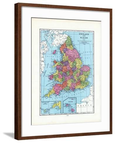 1925, United Kingdom, Europe, England and Wales--Framed Art Print
