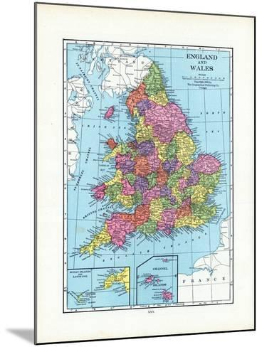 1925, United Kingdom, Europe, England and Wales--Mounted Giclee Print