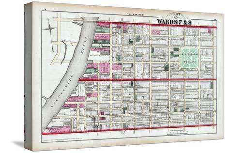 1875, Rittenhouse Square, Philadelphia, Pennsylvania, United States--Stretched Canvas Print