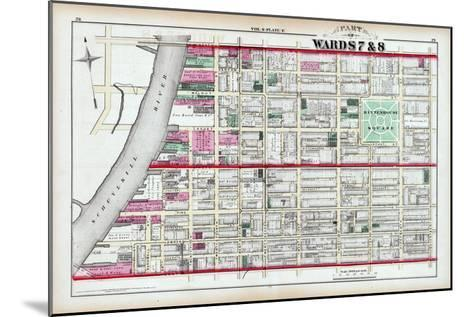 1875, Rittenhouse Square, Philadelphia, Pennsylvania, United States--Mounted Giclee Print