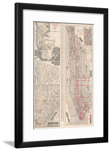 1950, New York, United States--Framed Art Print