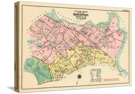 1925, Boston, Broghton, Massachusetts, United States--Stretched Canvas Print