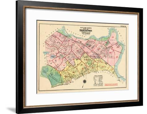 1925, Boston, Broghton, Massachusetts, United States--Framed Art Print