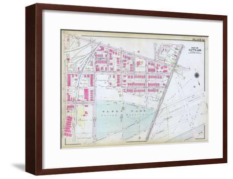 1923, Olney Park, Philadelphia, Pennsylvania, United States--Framed Art Print