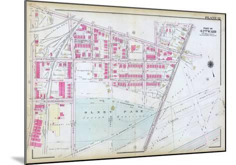 1923, Olney Park, Philadelphia, Pennsylvania, United States--Mounted Giclee Print