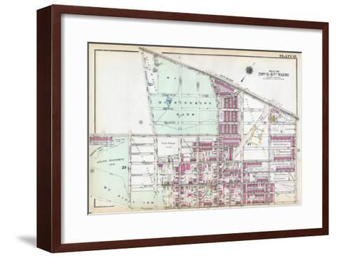 1929, Wissinoming Park, Philadelphia, Yellow Jackets, Philadelphia Eagles, Pennsylvania, USa--Framed Art Print
