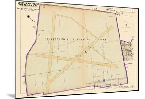 1953, Philadelphia North East Airport, Pennsylvania, United States--Mounted Giclee Print