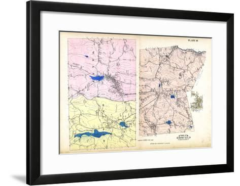 1912, Brimfield Town, Wales, Holland, Massachusetts, United States--Framed Art Print