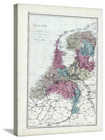 1873, Holland--Stretched Canvas Print