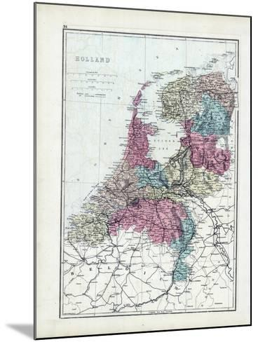 1873, Holland--Mounted Giclee Print