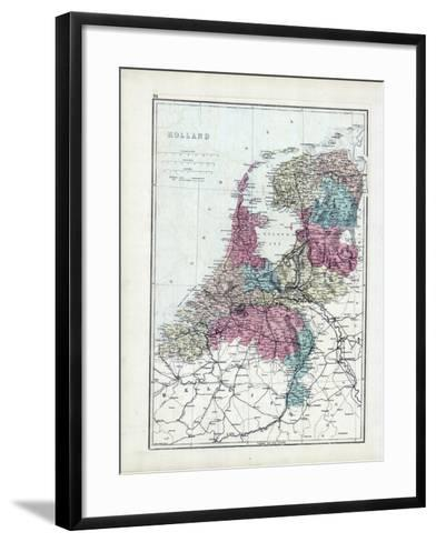 1873, Holland--Framed Art Print