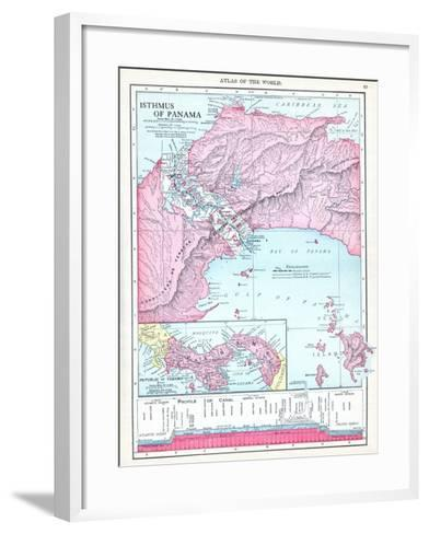 1913, Panama, Central America, Isthmus of Panama--Framed Art Print