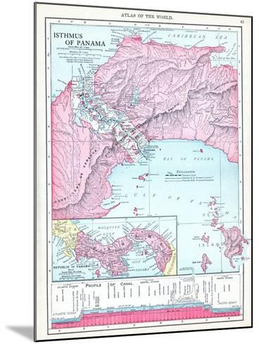 1913, Panama, Central America, Isthmus of Panama--Mounted Giclee Print