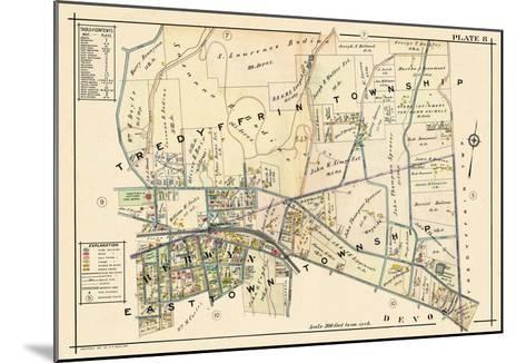 1912, Berwyn, Pennsylvania, United States--Mounted Giclee Print